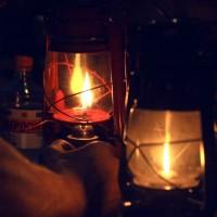 Вечером зажигаем лампы