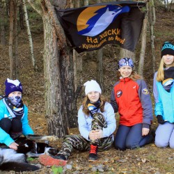 Наша команда в лагере